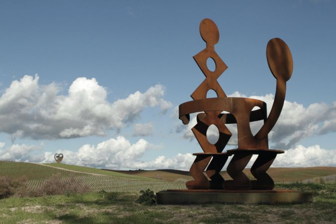 King and Queen, Keith Haring, Donum Estate