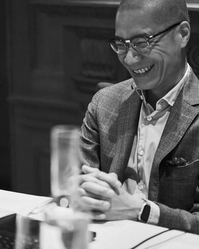 Champagne expert Peter Liem
