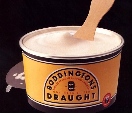 John Hegarty ad campaign for Boddingtons
