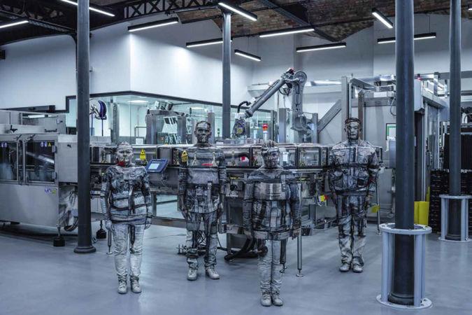 Ruinart: Disgorgement production-line workers Hélèna Keller, Olivier Mousset and Patricia Jacquemard