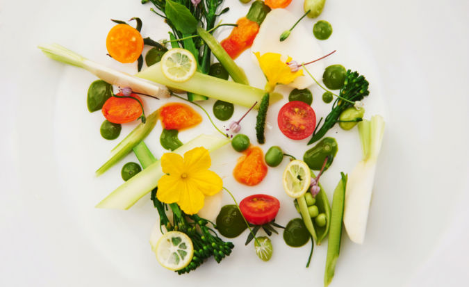 Yamashita's vegetables used in recipes by chef William Ledeuil
