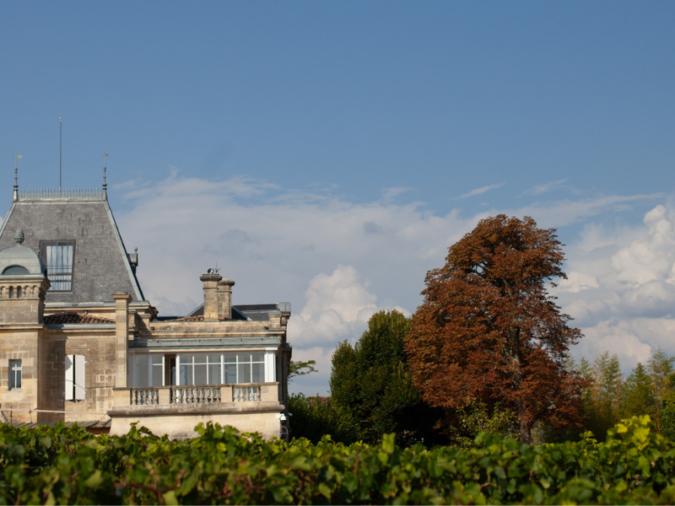 Château Ausone and the Bordeaux Skyline