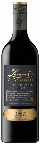 The 1843 Freedom Shiraz