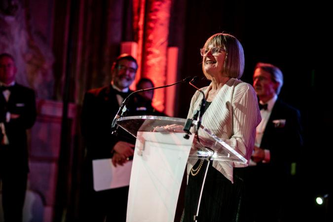 Jancis Robinson at the IWSC Awards Banquet 2018