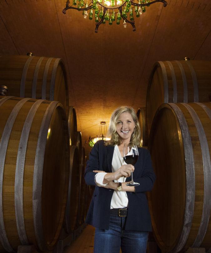 CEO of Banfi Cristina Mariani-May, photographed by Gianni Rizzotti