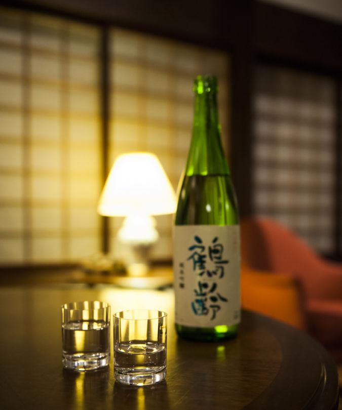 Sake Kakurei Junmai-Ginjo at Aoki Sake Brewery