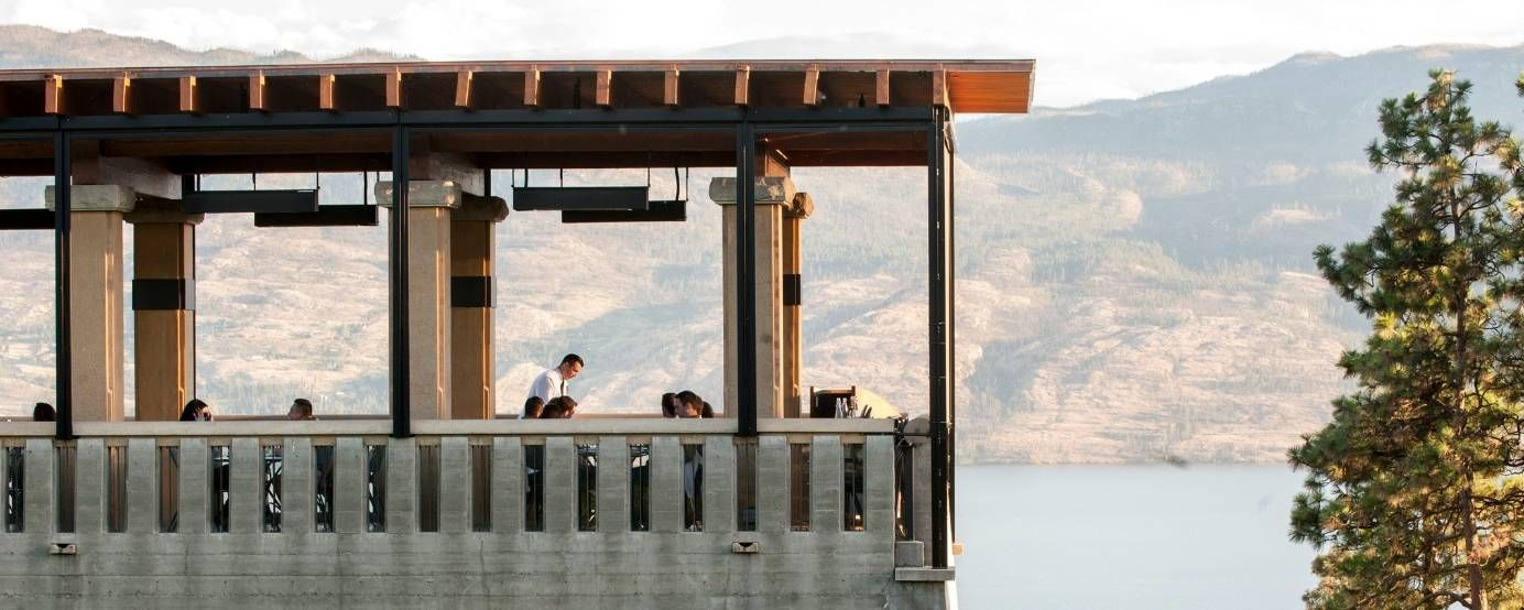 Terrace Restaurant at Mission Hill Estate in West Kelowna