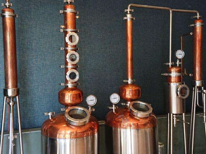 Gin distillery 56 North