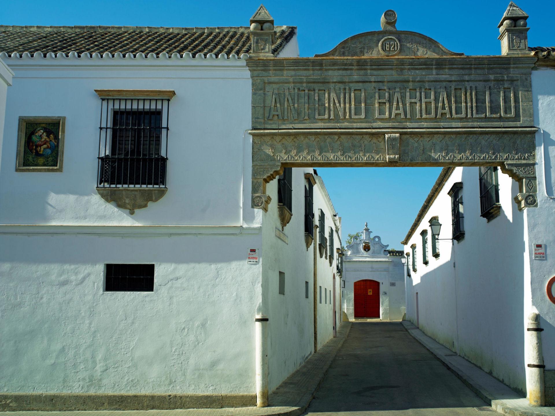 The sherry bodegas of Antonio Barbadillo in Sanluca de Barrameda