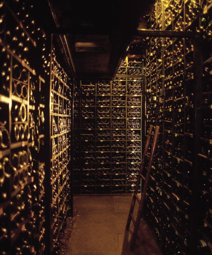 The cellars at La Tour d'Argent