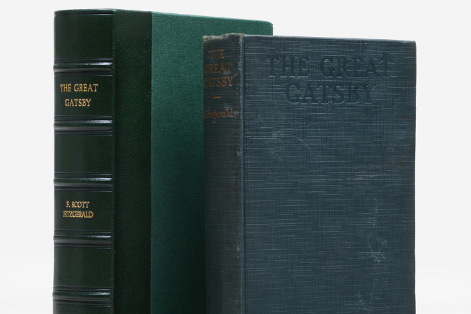 Rare book - The Great Gatsby, first edition, first printing, inscribed to 'the original Gatsby'