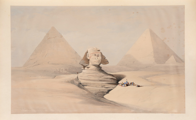 Rare book - Egypt and Nubia, first-edition deluxe coloured format