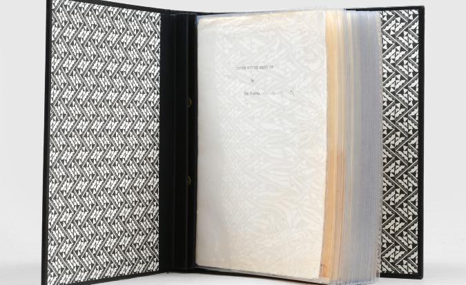 Rare book - The corrected typescript of Ian Fleming's The Man with the Golden Gun