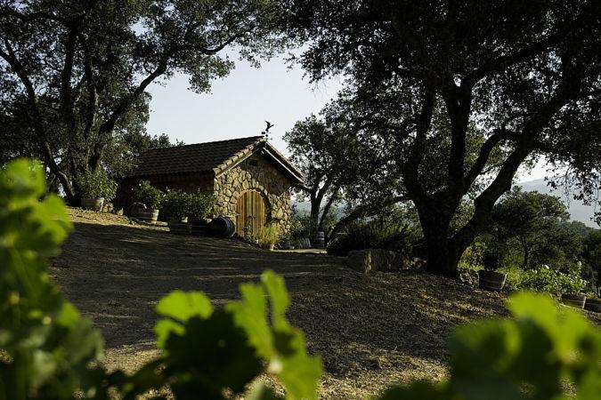 The original stone winery