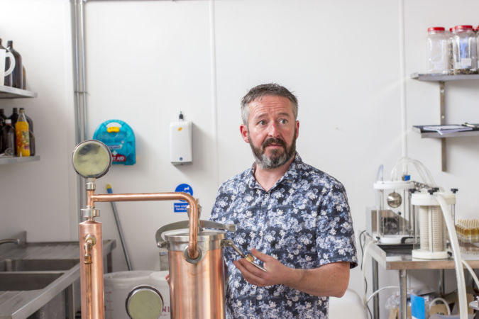 Mark Boswell © The Gin Cooperative, Old Curiosity Distillery