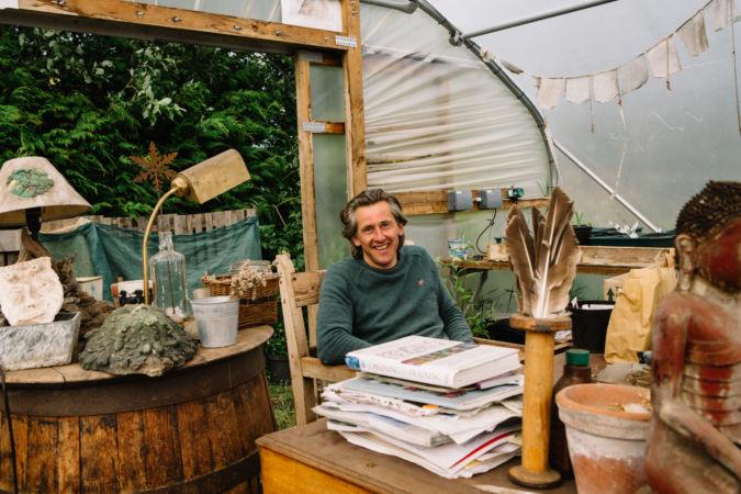 Hamish Martin, owner of Secret Herb Garden in Edinburgh