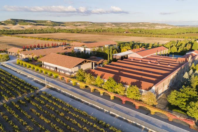 The Vega Sicilia winery in Spain