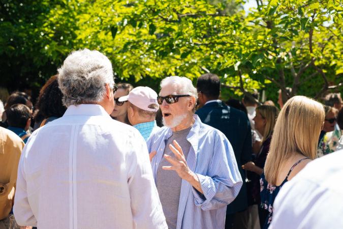 Bill Harlan at Auction Napa Valley earlier this year