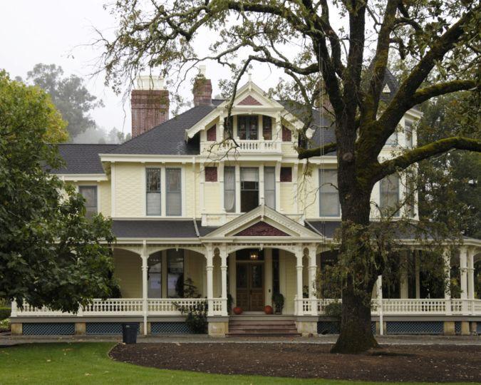 The Inglenook mansion