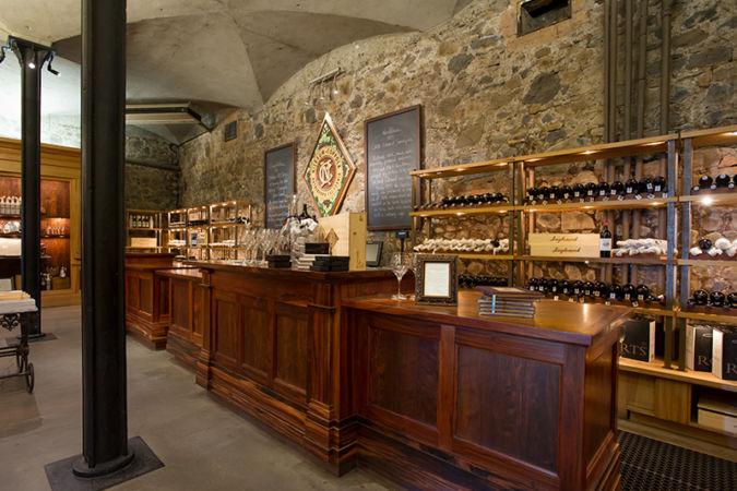 Inside the Inglenook winery