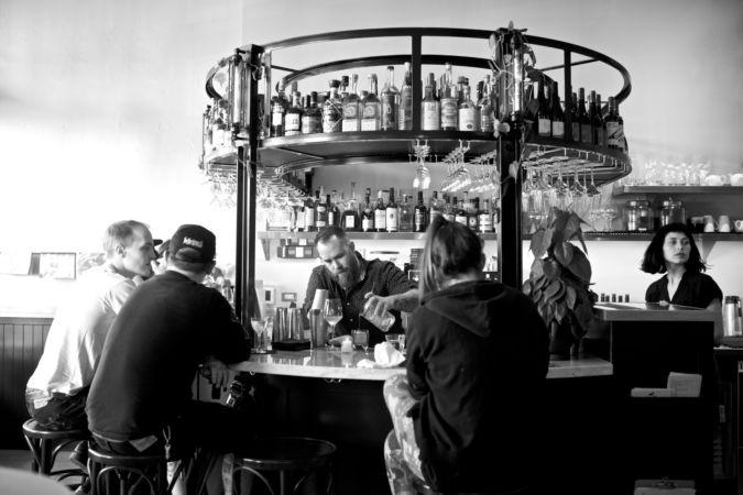 Canard wine bar in Portland, Oregon