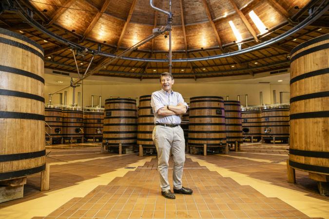 Pierre-Henry Gagey in Maison Louis Jadot winery