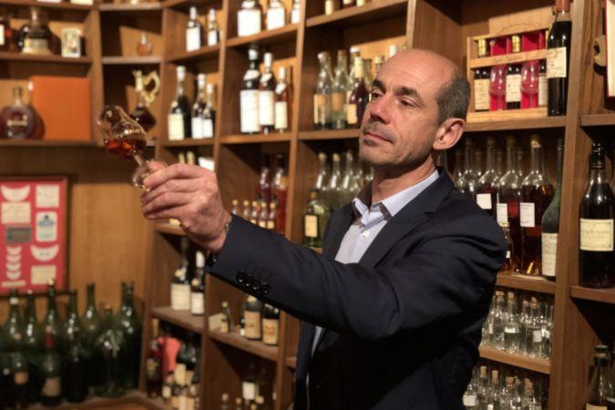 Frapin cellar master Patrice Piveteau
