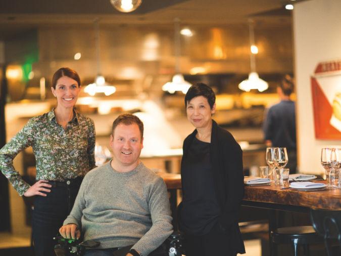 High Street on Hudson chefs Melissa Weller and Eli Kulp, and co-founder Ellen Yin