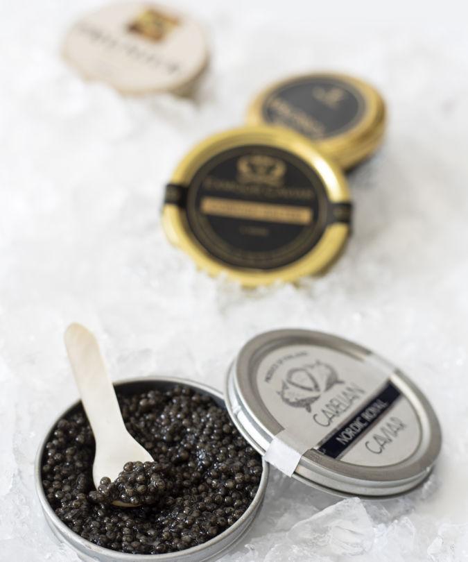 Jars of Caviar