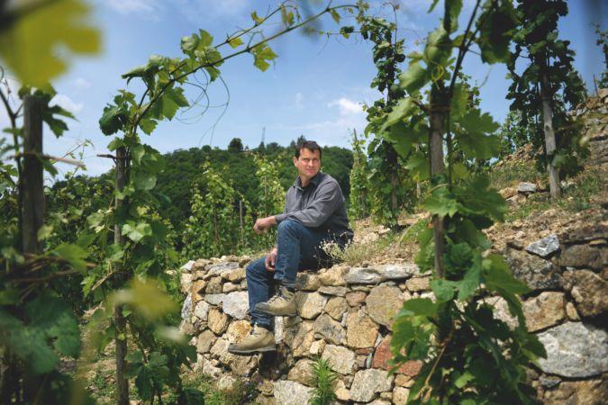 Winemaker Jean-Louis Chave in St Joseph