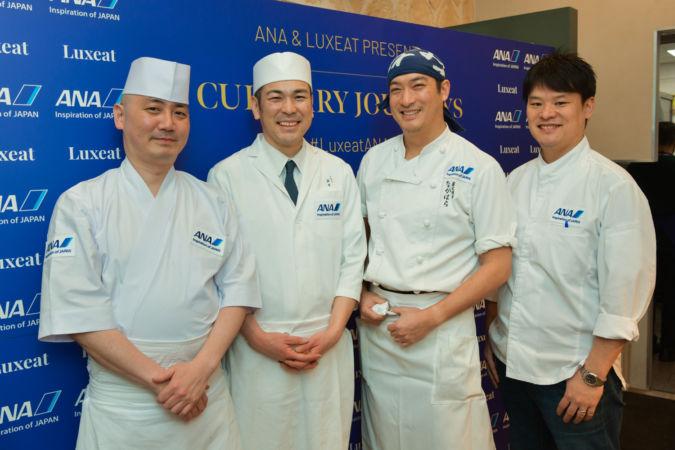 Shingo Takahashi, Tomokazu Maehira, Kentaro Nakahara and Toshitaka Omiya