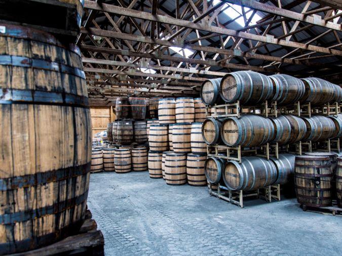 Whistle Pig Whiskey Barrel Room