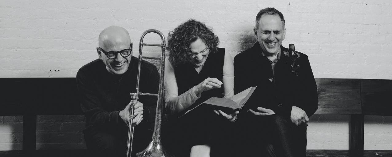 David Lang, Julia Wolfe and Michael Gordon from the new music collective, Bang on a Can