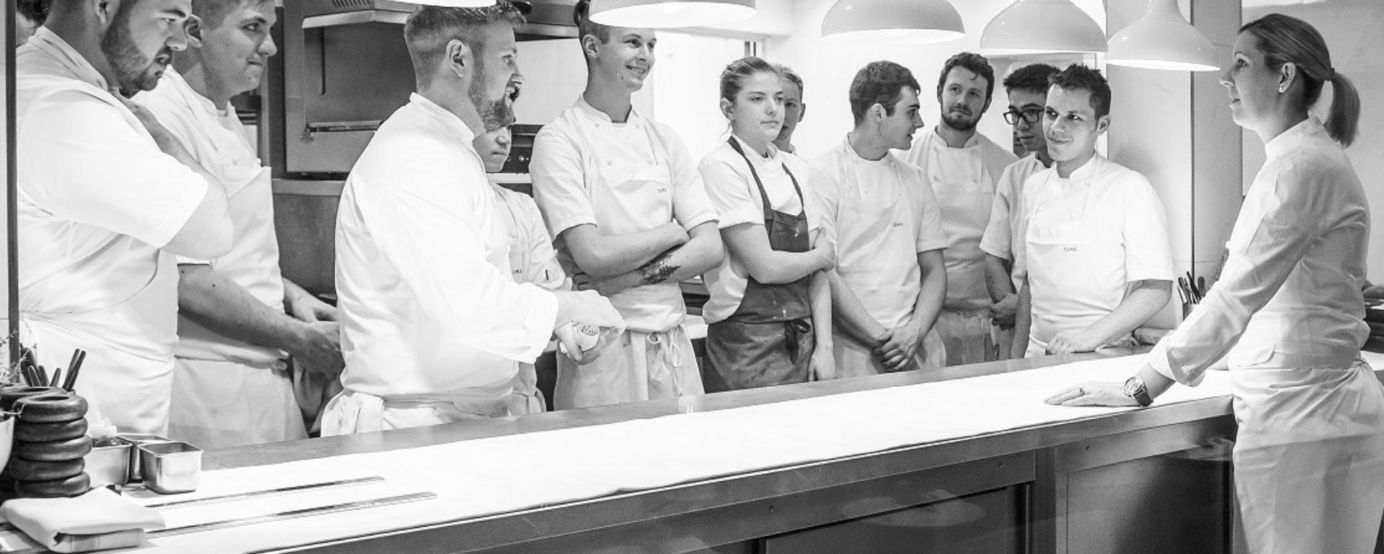 The team of chefs at Core by Clare Smyth