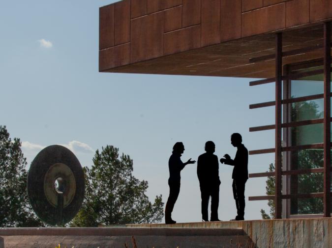 Mireia Torres, Miguel A Torres and Miguel Torres Maczassek talk climate change in Penedès