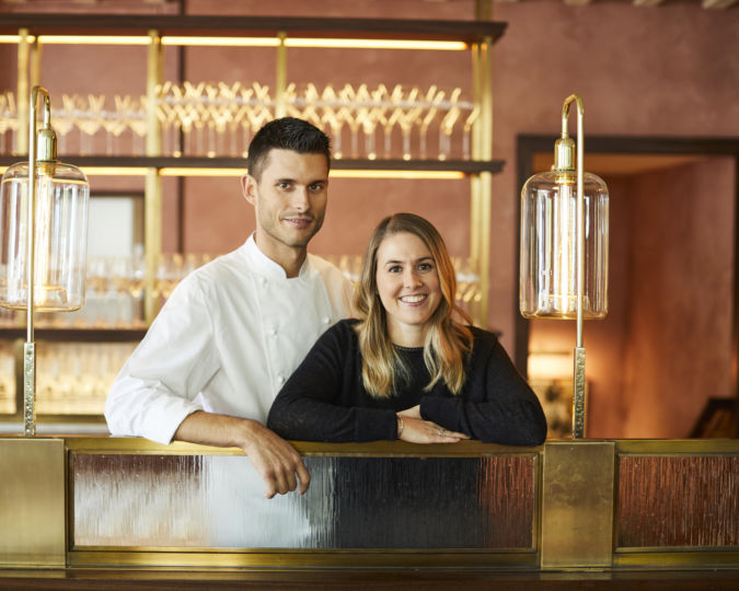 Chef Emily Roux and her husband Diego