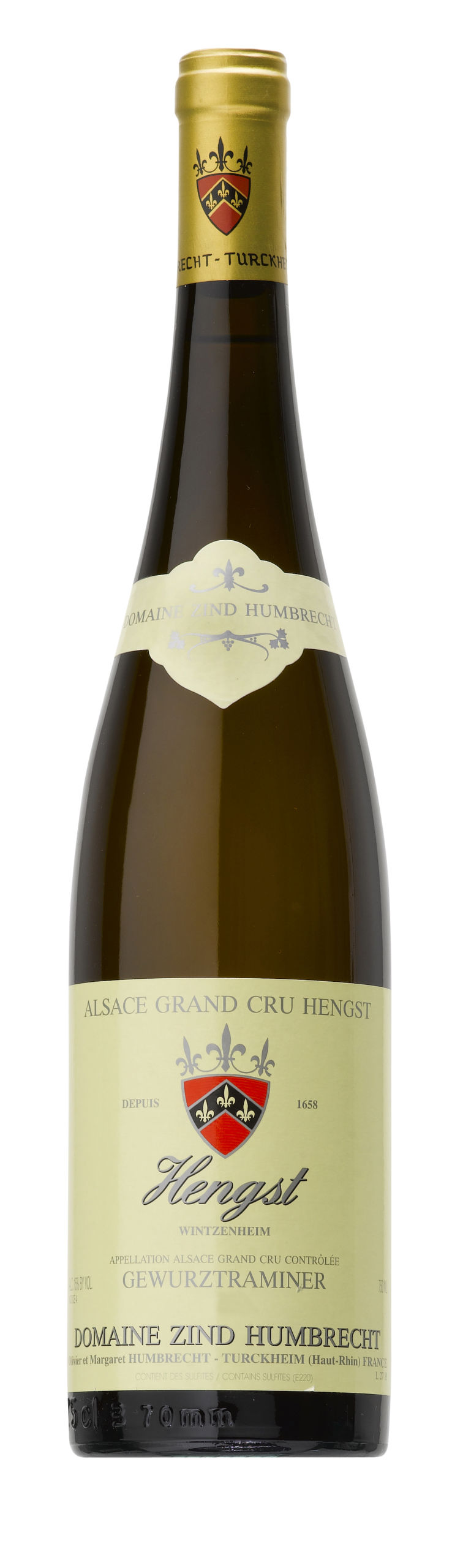 Alsace Grand Cru Hengst Gewurztraminer