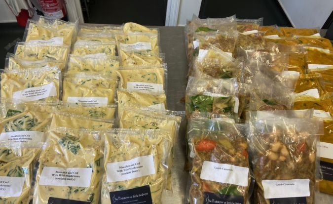 Ready meals for the community