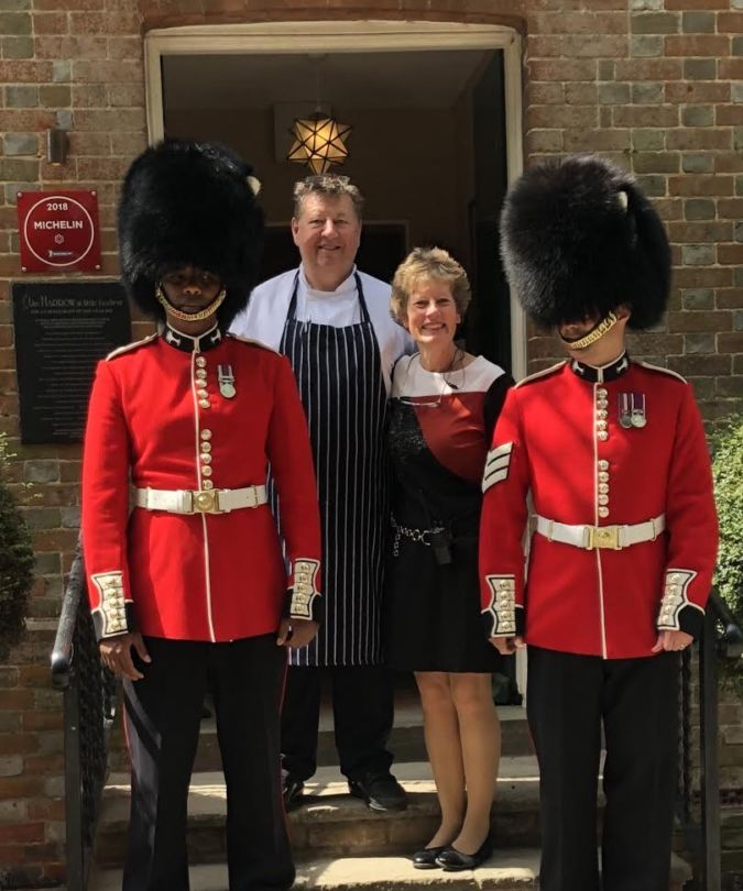 Hosted the Welsh Guards Charity Day raising over £20,000 for their Charity over lunch