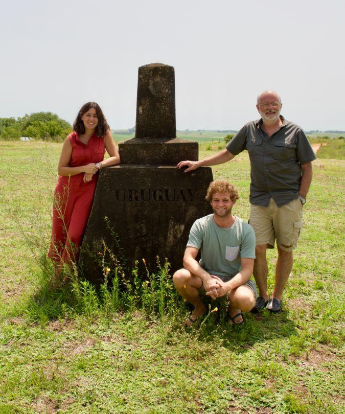 Pia, Francisco and Felipe Carrau