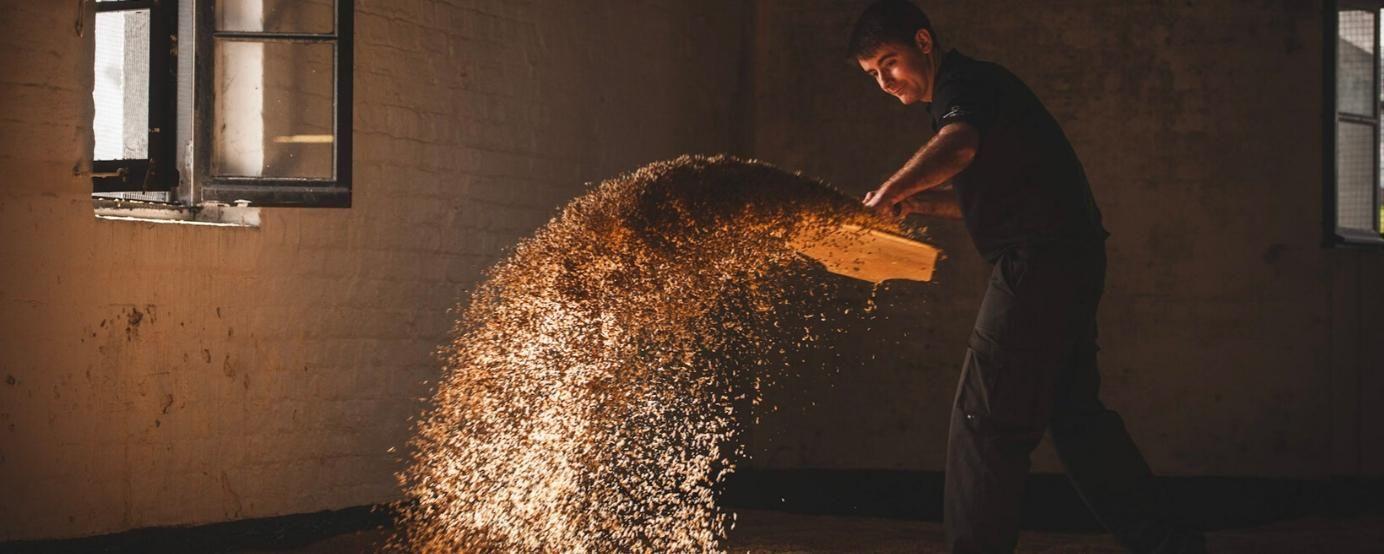 Turning barley