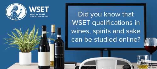 WSET Online banner