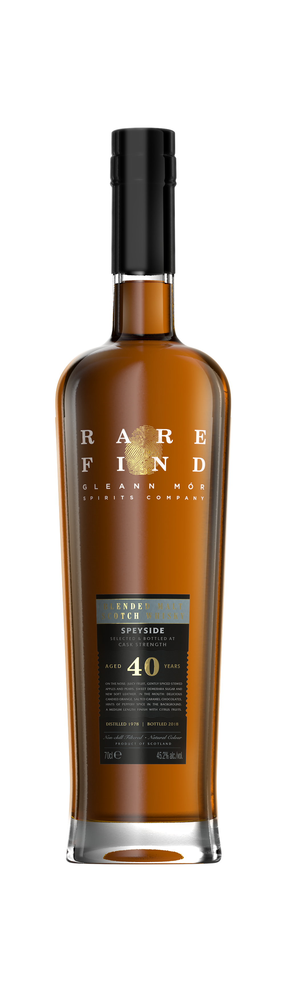 40 year old blended whisky