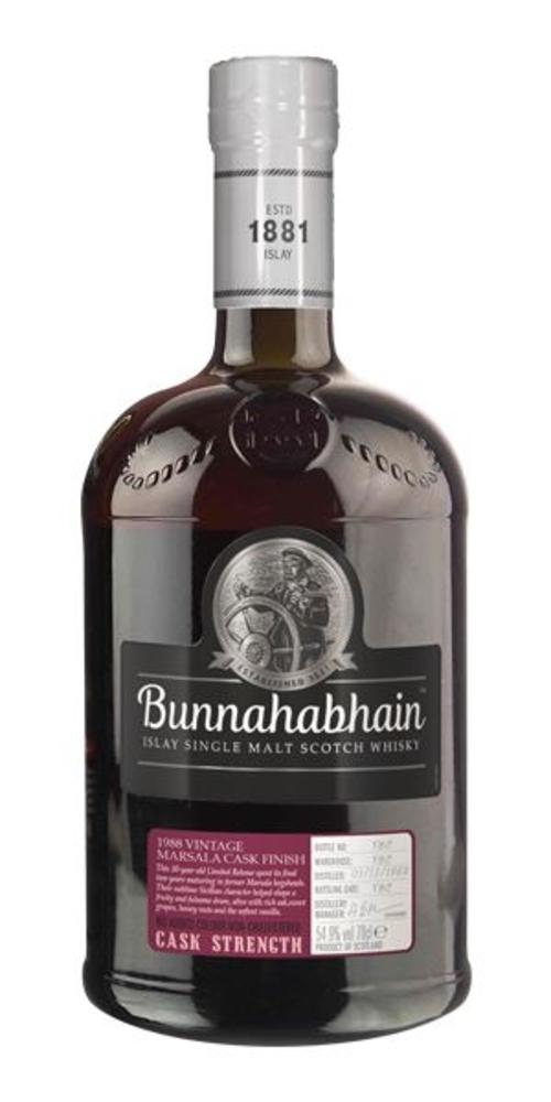 Bunnahabhain 1988 30 year old Marsala finish