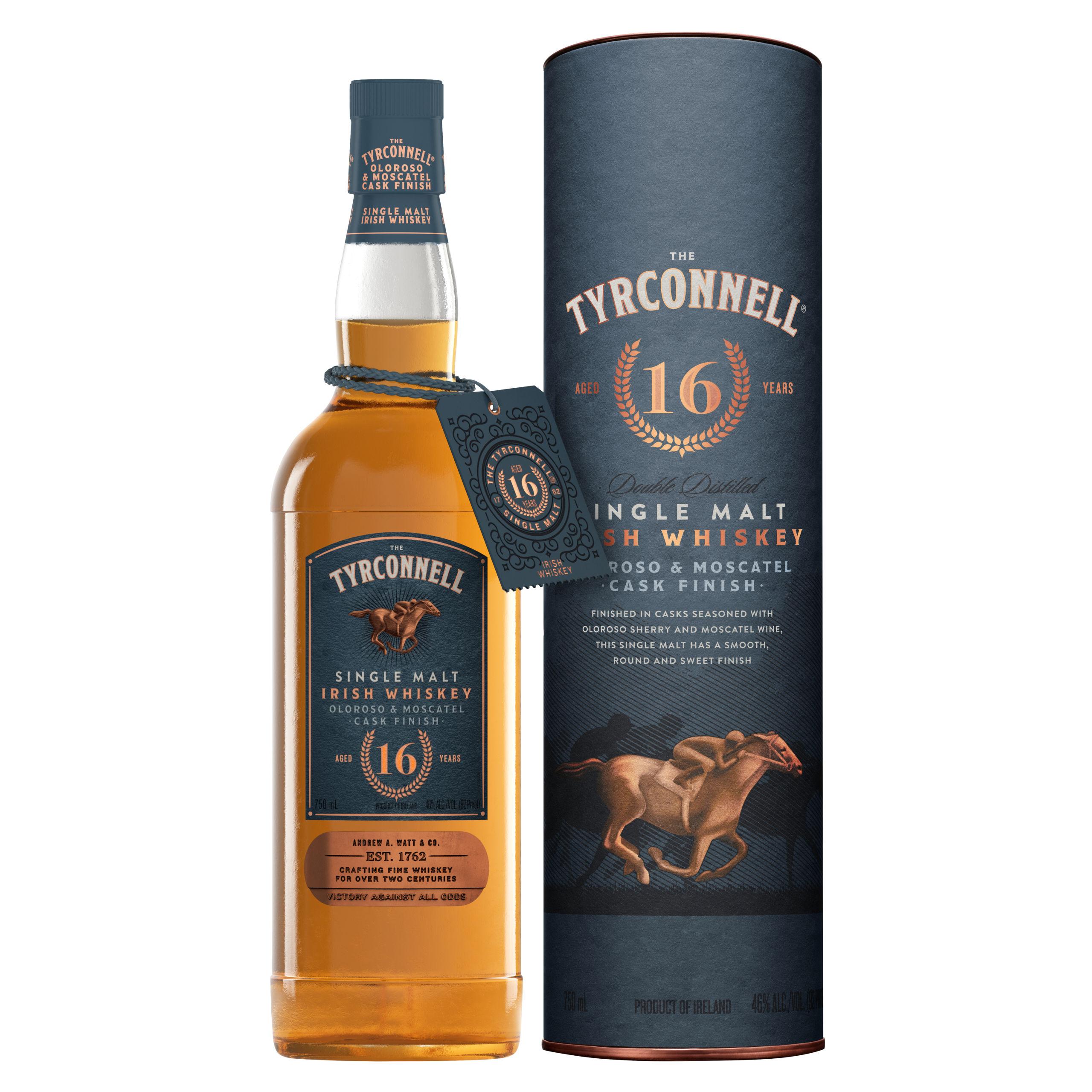 16 Year Old Single Malt Oloroso & Moscatel Cask Finish Irish Whiskey
