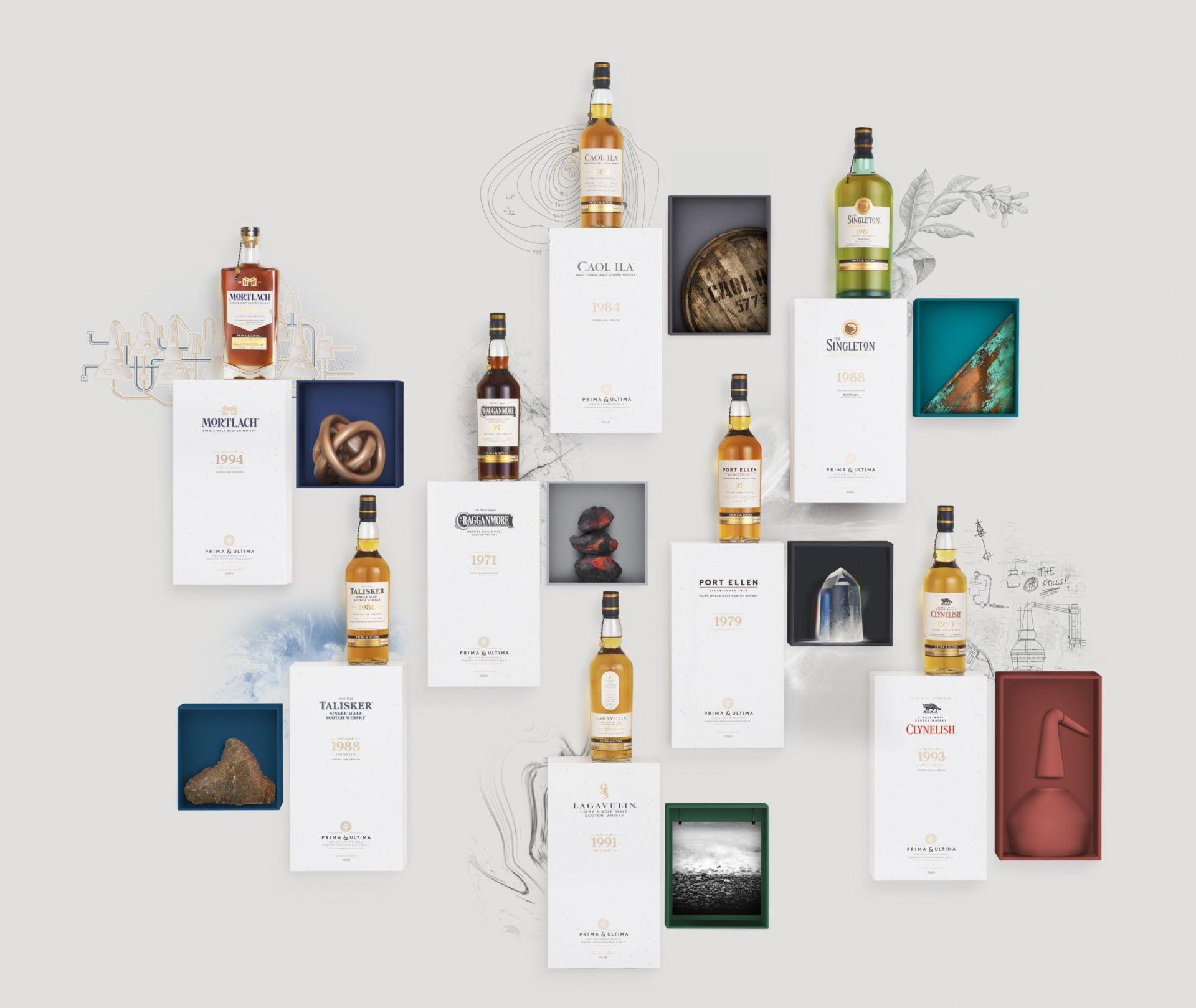 Prima & Ultima whisky ranges