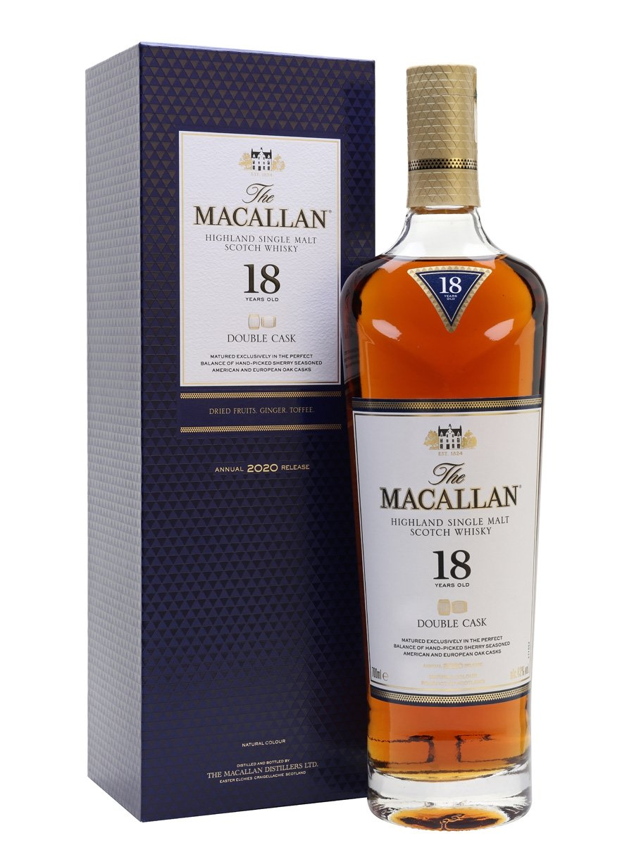18 Year Old Double Cask 2020 Release
