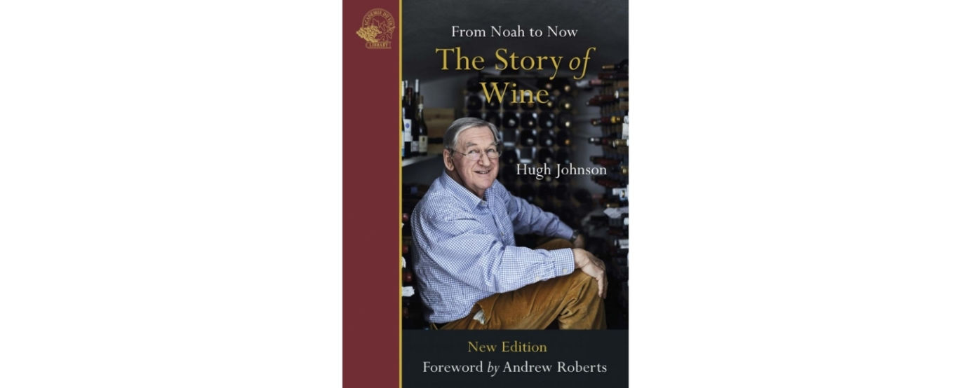 Hugh Johnson The Story of Wine book cover