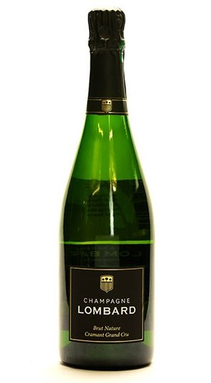 bottle of lombard champagne