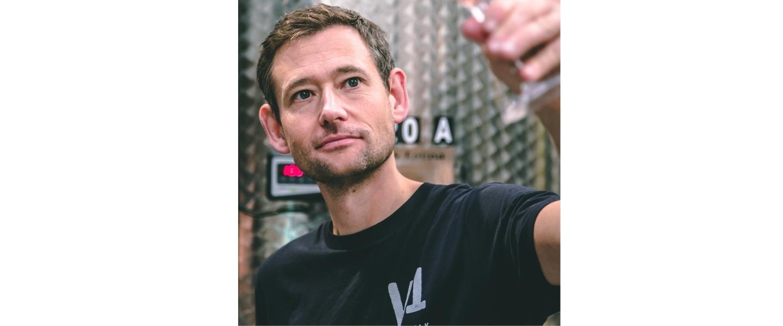 CEO of Black Chalk winery Jacob Leadley
